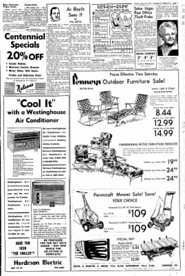 Greeley Daily Tribune from Greeley, Colorado on May 21, 1970 · Page 7