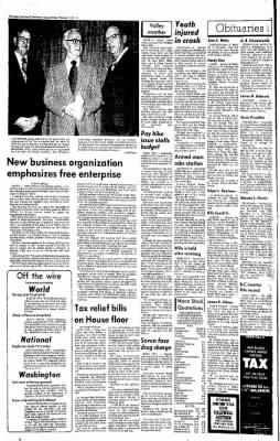 Idaho Free Press from Nampa, Idaho on February 7, 1975 · Page 2