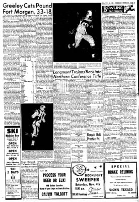 Greeley Daily Tribune from Greeley, Colorado on November 4, 1961 · Page 9
