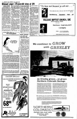 Greeley Daily Tribune from Greeley, Colorado on April 17, 1973 · Page 18