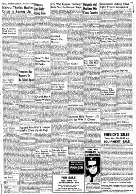 Greeley Daily Tribune from Greeley, Colorado on November 4, 1961 · Page 10