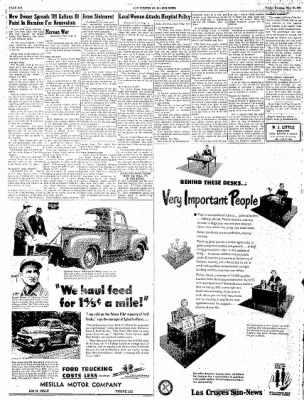 Las Cruces Sun-News from Las Cruces, New Mexico on May 18, 1951 · Page 6