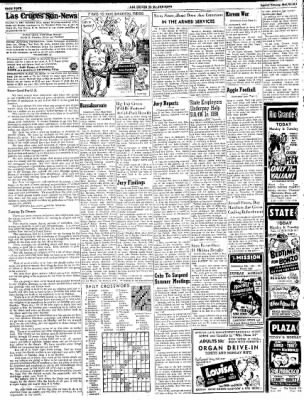 Las Cruces Sun-News from Las Cruces, New Mexico on May 20, 1951 · Page 4