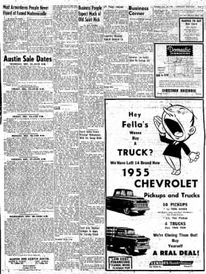 Greeley Daily Tribune from Greeley, Colorado on December 20, 1955 · Page 9