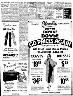 Greeley Daily Tribune from Greeley, Colorado on December 21, 1955 · Page 4