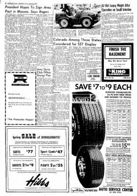 Greeley Daily Tribune from Greeley, Colorado on April 24, 1972 · Page 36