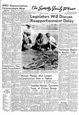 Greeley Daily Tribune from Greeley, Colorado on April 25, 1972 · Page 1