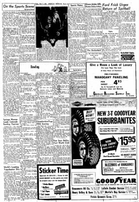 Greeley Daily Tribune from Greeley, Colorado on November 7, 1961 · Page 13