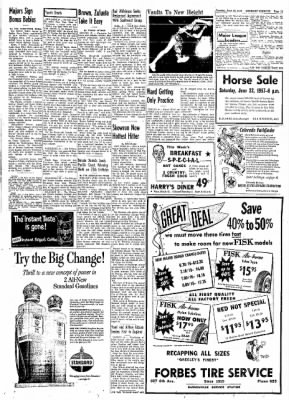 Greeley Daily Tribune from Greeley, Colorado on June 18, 1957 · Page 26