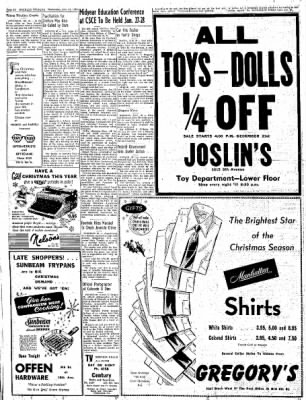 Greeley Daily Tribune from Greeley, Colorado on December 21, 1955 · Page 10