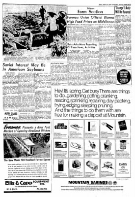 Greeley Daily Tribune from Greeley, Colorado on April 25, 1972 · Page 9