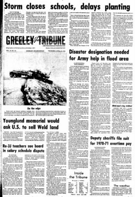 Greeley Daily Tribune from Greeley, Colorado on April 19, 1973 · Page 1