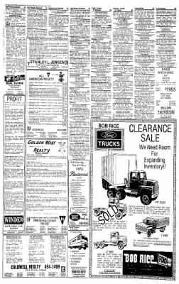 Idaho Free Press from Nampa, Idaho on March 1, 1976 · Page 21