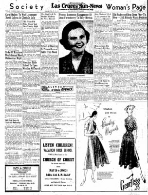 Las Cruces Sun-News from Las Cruces, New Mexico on May 27, 1951 · Page 3