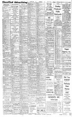 Greeley Daily Tribune from Greeley, Colorado on December 15, 1962 · Page 12