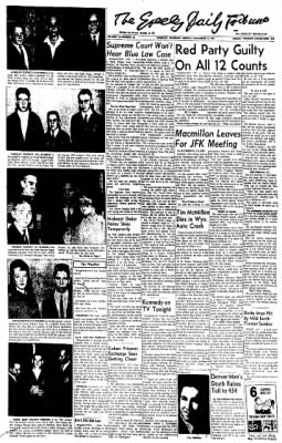 Greeley Daily Tribune from Greeley, Colorado on December 17, 1962 · Page 1