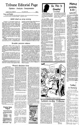 Greeley Daily Tribune from Greeley, Colorado on April 20, 1973 · Page 4
