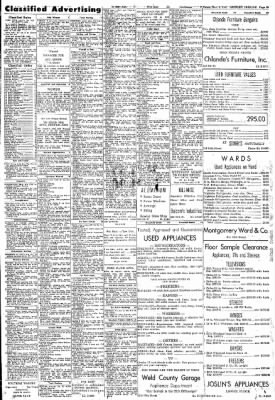 Greeley Daily Tribune from Greeley, Colorado on November 9, 1961 · Page 29