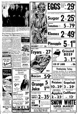 Greeley Daily Tribune from Greeley, Colorado on November 9, 1961 · Page 32
