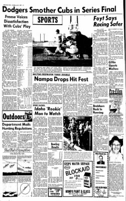 Idaho Free Press from Nampa, Idaho on July 3, 1967 · Page 6