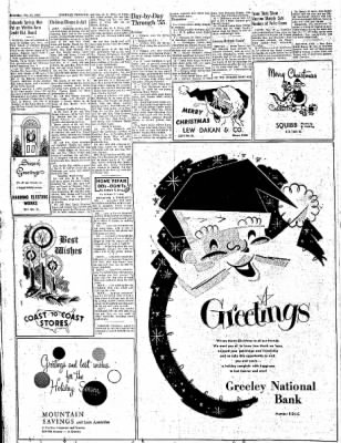 Greeley Daily Tribune from Greeley, Colorado on December 24, 1955 · Page 34