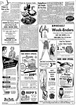 Greeley Daily Tribune from Greeley, Colorado on June 20, 1957 · Page 11