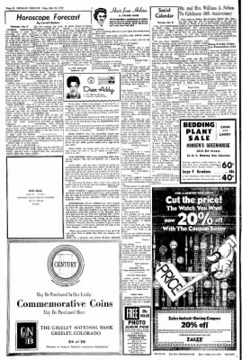 Greeley Daily Tribune from Greeley, Colorado on May 26, 1970 · Page 21