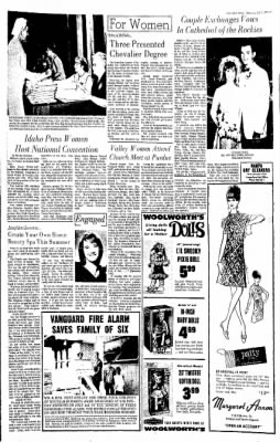 Idaho Free Press from Nampa, Idaho on July 6, 1967 · Page 7