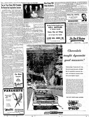 Greeley Daily Tribune from Greeley, Colorado on December 29, 1955 · Page 4