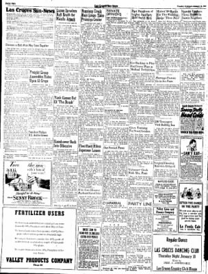 Las Cruces Sun-News from Las Cruces, New Mexico on January 16, 1945 · Page 2