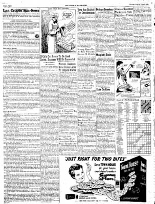 Las Cruces Sun-News from Las Cruces, New Mexico on June 14, 1951 · Page 4
