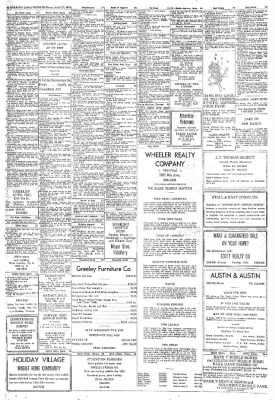 Greeley Daily Tribune from Greeley, Colorado on April 27, 1972 · Page 42