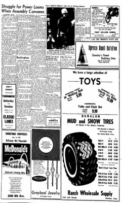 Greeley Daily Tribune from Greeley, Colorado on December 21, 1962 · Page 6