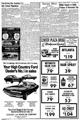 Greeley Daily Tribune from Greeley, Colorado on May 28, 1970 · Page 22