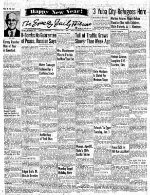 Greeley Daily Tribune from Greeley, Colorado on December 31, 1955 · Page 1