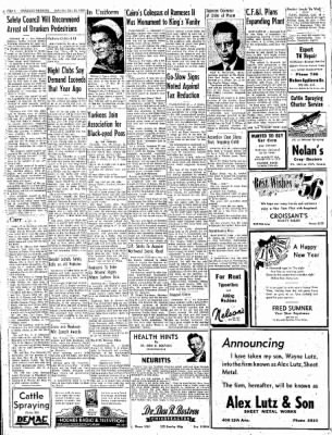 Greeley Daily Tribune from Greeley, Colorado on December 31, 1955 · Page 4