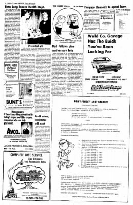 Greeley Daily Tribune from Greeley, Colorado on April 24, 1973 · Page 8