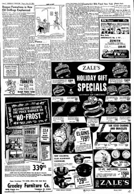Greeley Daily Tribune from Greeley, Colorado on November 16, 1961 · Page 2