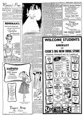 Greeley Daily Tribune from Greeley, Colorado on June 24, 1957 · Page 31