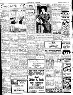 The Courier News from Blytheville, Arkansas on November 11, 1937 · Page 2