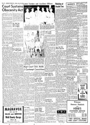 Greeley Daily Tribune from Greeley, Colorado on June 24, 1957 · Page 44
