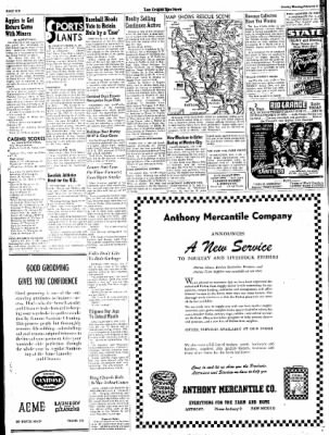 Las Cruces Sun-News from Las Cruces, New Mexico on February 4, 1945 · Page 6