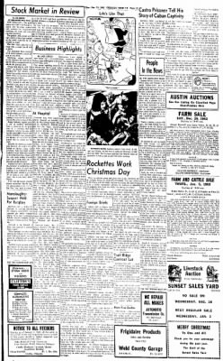 Greeley Daily Tribune from Greeley, Colorado on December 24, 1962 · Page 15