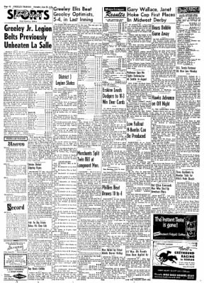 Greeley Daily Tribune from Greeley, Colorado on June 25, 1957 · Page 23