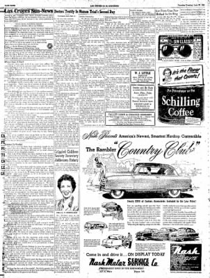 Las Cruces Sun-News from Las Cruces, New Mexico on June 28, 1951 · Page 4