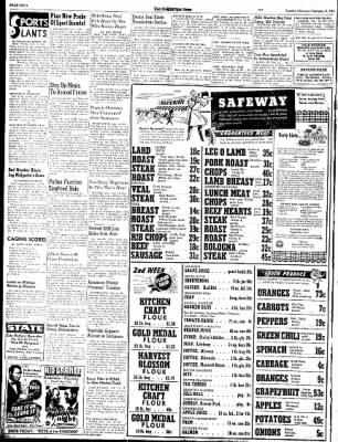 Las Cruces Sun-News from Las Cruces, New Mexico on February 13, 1945 · Page 4