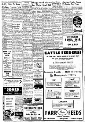 Greeley Daily Tribune from Greeley, Colorado on November 17, 1961 · Page 13