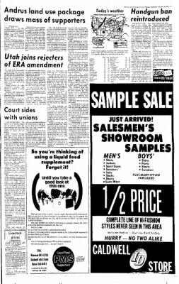 Idaho Free Press from Nampa, Idaho on February 19, 1975 · Page 5