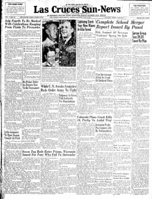 Las Cruces Sun-News from Las Cruces, New Mexico on July 2, 1951 · Page 1
