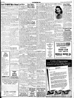 Las Cruces Sun-News from Las Cruces, New Mexico on February 21, 1945 · Page 2